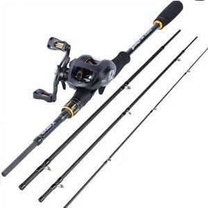 Sougayilang Baitcasting Fishing Rod with Reel Combos
